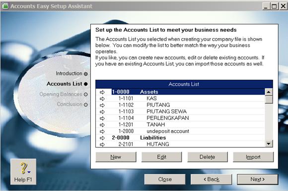 siklus akuntansi - cara merancang dan membuat rekening