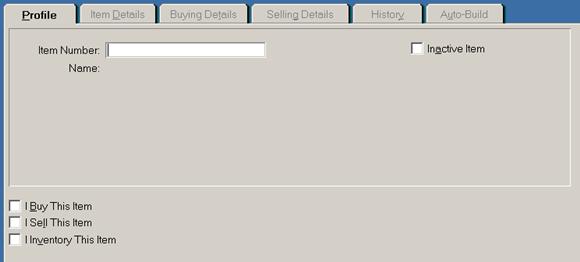 siklus akuntansi - input data barang di MYOB