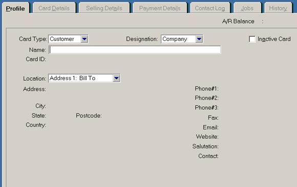 siklus akuntansi - memasukkan data pelanggan