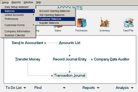 siklus akuntansi - memasukkan saldo pelanggan