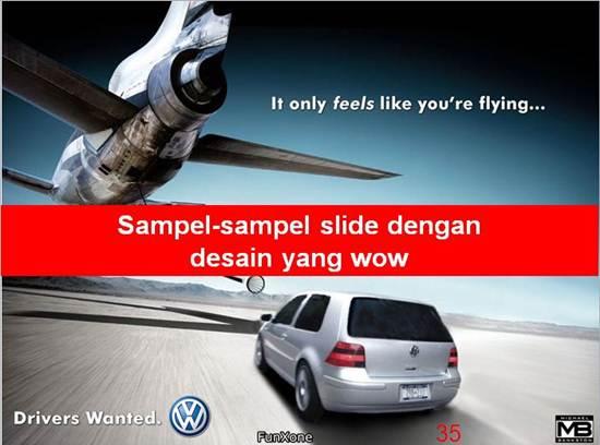 sample slide presentation