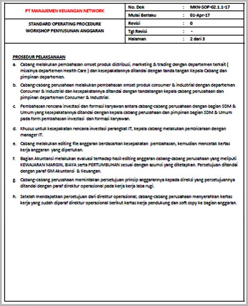 SOP Workshop Penyusunan Anggaran - halaman - 02