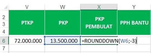 menghitung nilai PKP dalam PPh 21