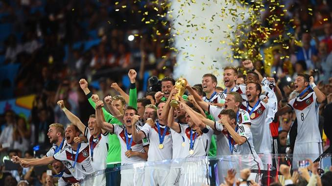 juara piala dunia 2014 - Jerman