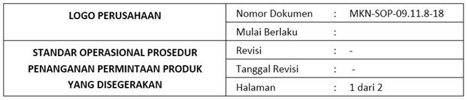 Contoh SOP Penanganan Permintaan Mendesak- header.1