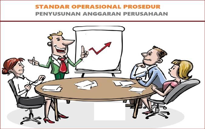 contoh sop organisasi/perusahaan