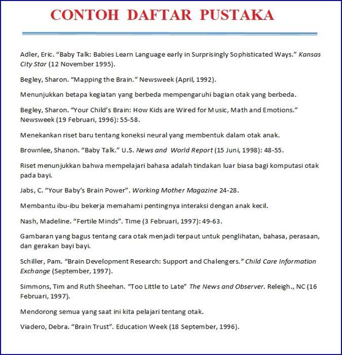 Daftar Pustaka Buku Psikologi